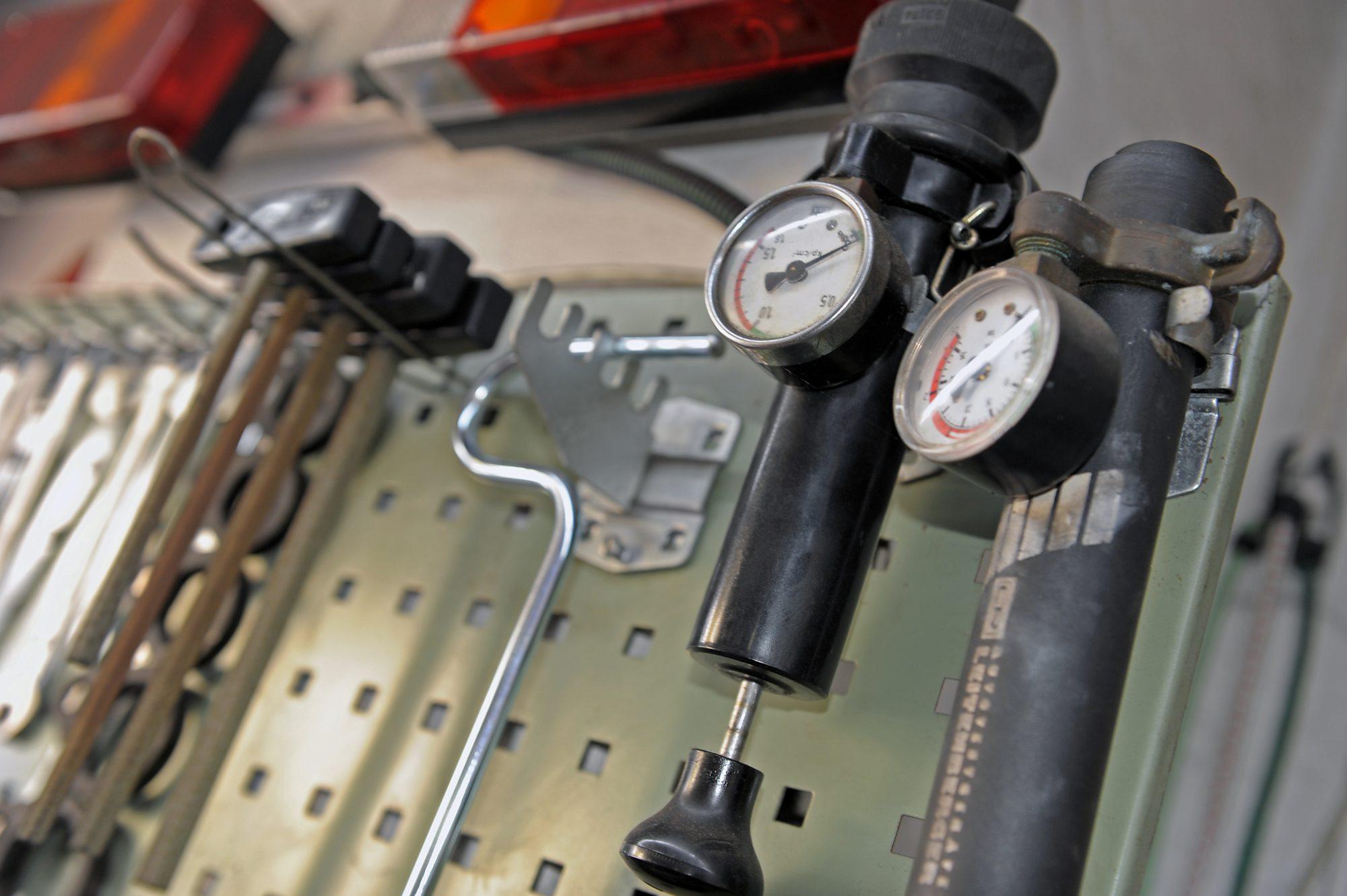 KFZ-Werkstatt, Werkzeug